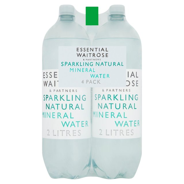 Essential Waitrose Carbonated Natural Mineral Water