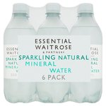 Essential Waitrose Natural Sparkling Mineral Water