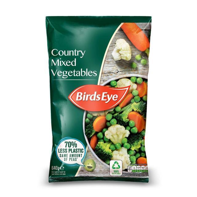 Birds Eye Country Mixed Vegetables Frozen