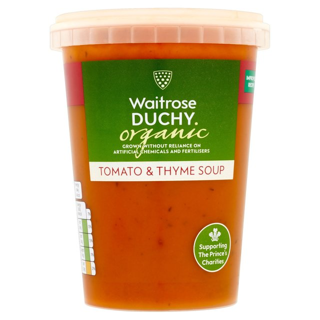 Duchy From Waitrose Organic Tomato & Thyme Soup
