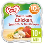 Cow & Gate Pasta with Chicken, Tomato & Mushroom Baby Meal Tray