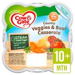 Cow & Gate Country Vegetables & Beef Casserole Meal Steamed Meal