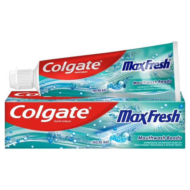 Colgate Blue Max Beads Toothpaste | Ocado