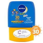 Nivea Sun Kids Pocket Size SPF 30 at Ocado