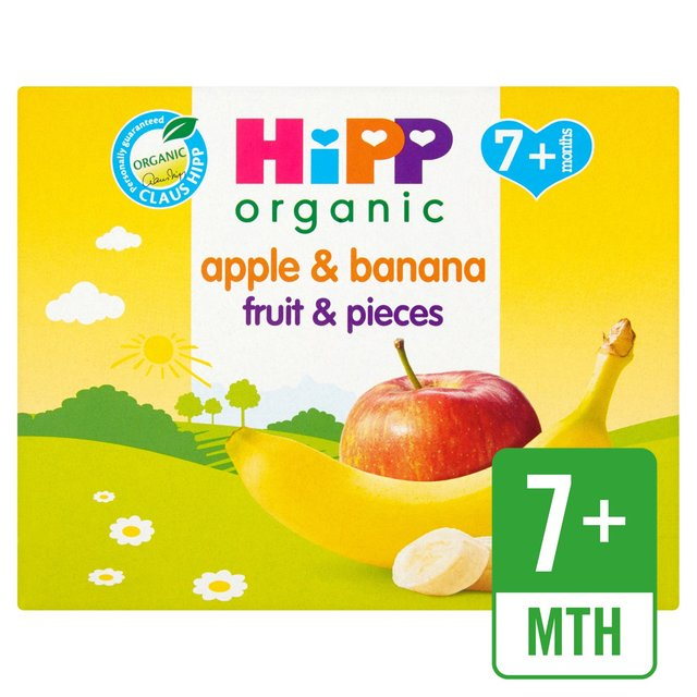 HiPP Organic Fruit & Pieces Apple & Banana