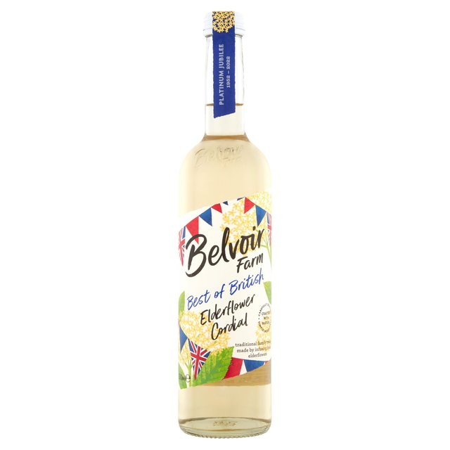 Belvoir Elderflower Cordial 500ml from Ocado