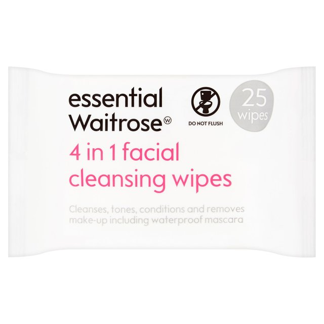 3 in 1 Facial Wipes essential Waitrose