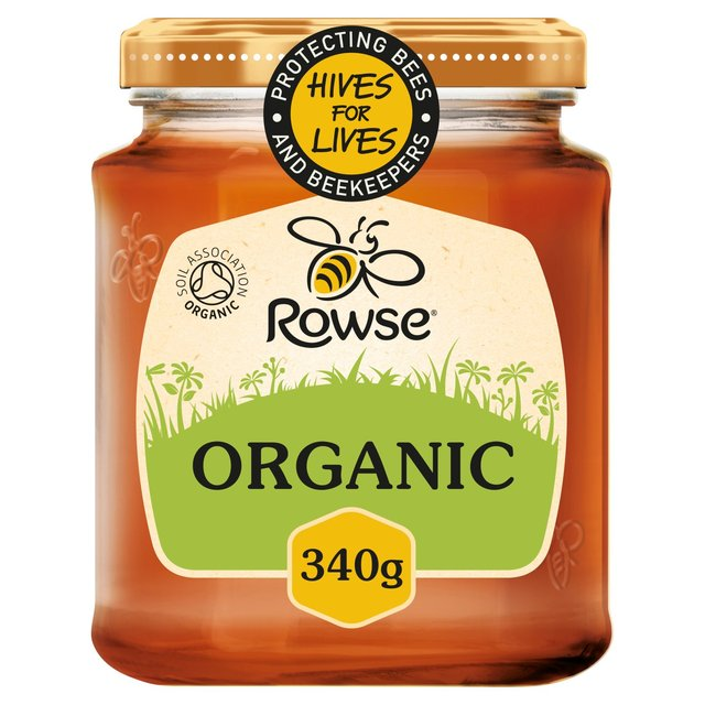 Rowse Organic Clear Honey