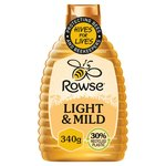 Rowse Light & Mild Squeezy Honey