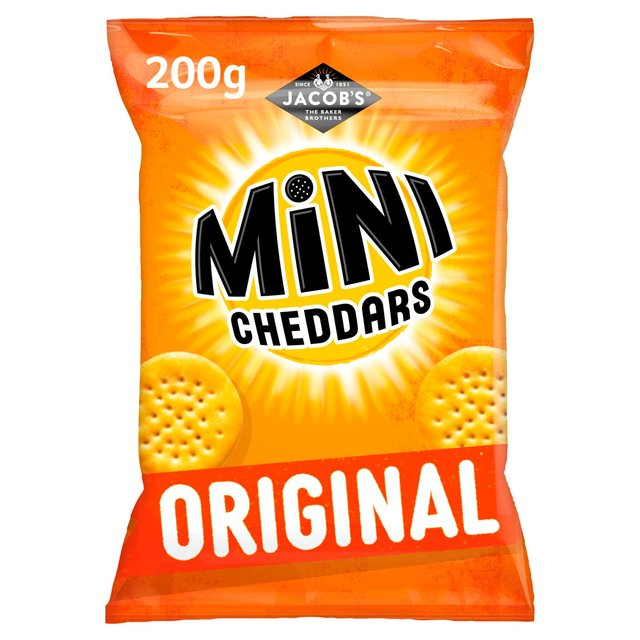 Jacob's Mini Cheddars Sharing Bag | Ocado