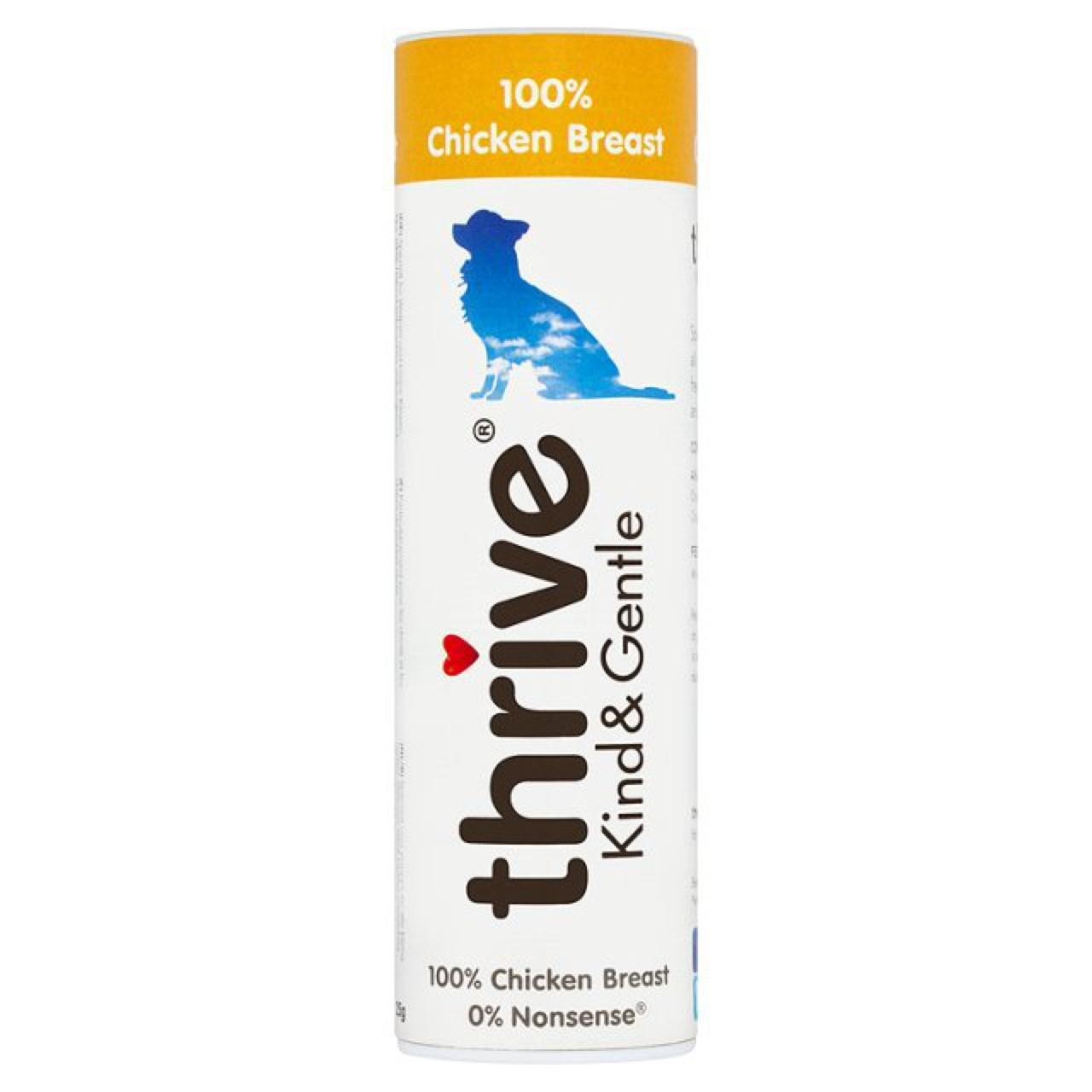 An image of Thrive Kind & Gentle 100% Chicken Breast Dog Treats