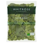 Waitrose Ready Washed Spinach