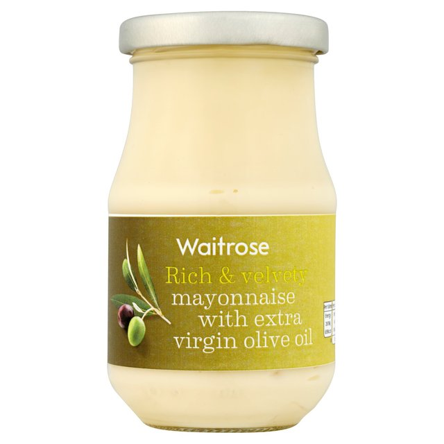 Waitrose Extra Virgin Olive Oil Mayonnaise 250ml from Ocado