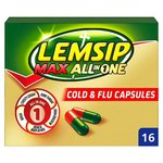 Lemsip Max All in One Cold Relief Capsules