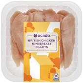 Ocado British Mini Chicken Breast Fillets