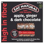 Eat Natural Apple, Ginger, Dark Chocolate Bars Multipack