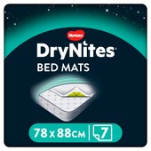 Huggies DryNites Bed Mats 88x78 cm
