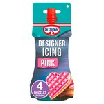 Dr. Oetker Pink Designer Piping Icing & Nozzles
