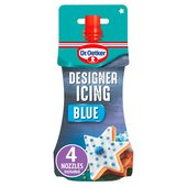 Dr. Oetker Blue Designer Piping Icing & Nozzles