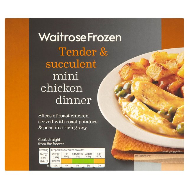 Waitrose Mini Chicken Dinner Frozen