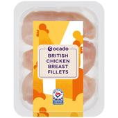 Ocado British 3-5 Chicken Breast Fillets
