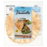Dina Bread Medium White Paninette Wraps