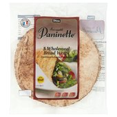 Dina Bread Medium Wholemeal Paninette Wraps