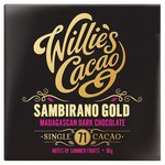 Willie's Cacao Madagascan Gold Dark Chocolate 71%