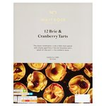 Waitrose 12 Brie & Cranberry Filo Tartlets