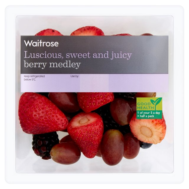 Waitrose Berry Medley 220g from Ocado