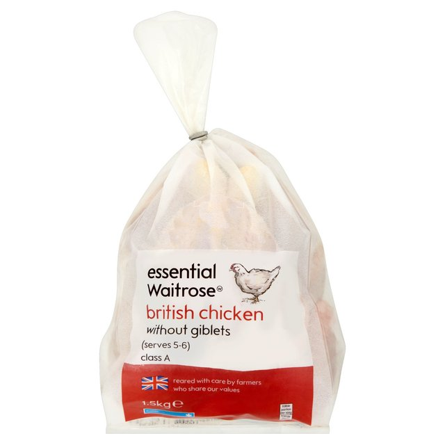 Frozen Whole Chicken essential Waitrose