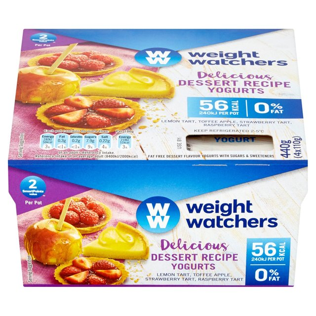 Weight Watchers Dessert Recipe Yogurts 4 X 110g From Ocado
