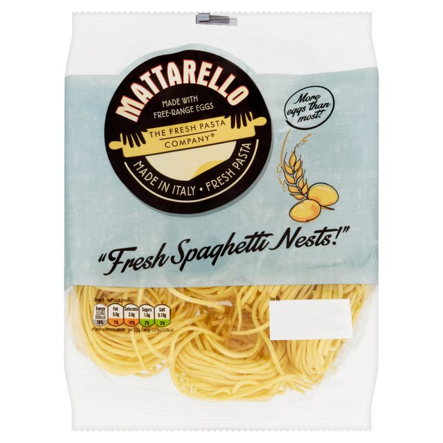 Fresh Pasta Co Fresh Spaghetti Nests