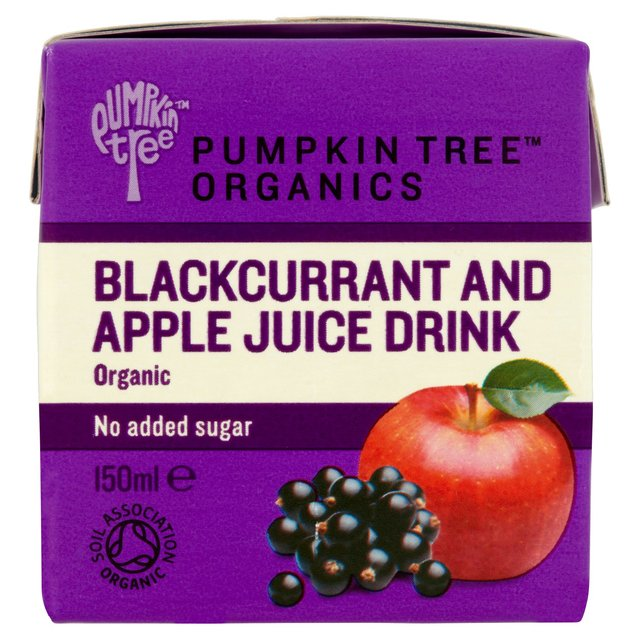 Pumpkin Tree Organics Blackcurrant & Apple Juice Drink