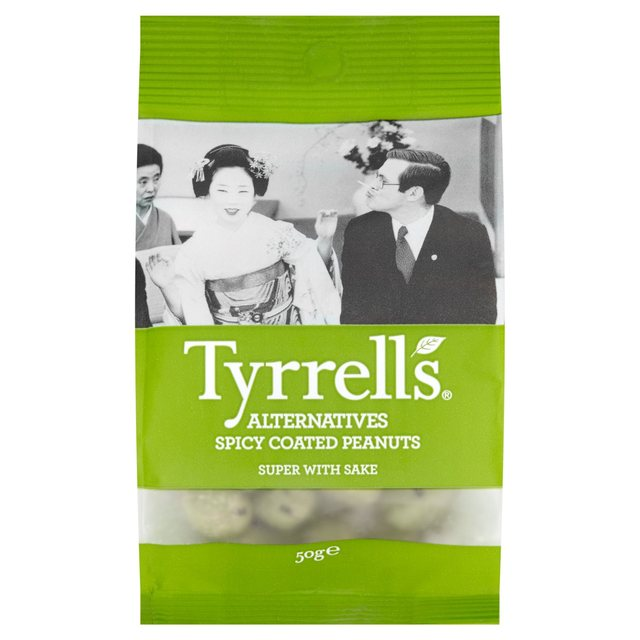 Tyrrells Spicy Coated Peanuts