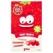 The Fruit Factory Strawberry Fruit Hearts