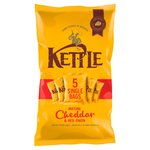 Kettle Chips Cheddar Cheese & Onion 30g x