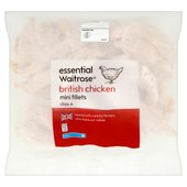 Frozen Chicken Mini Fillets essential Waitrose