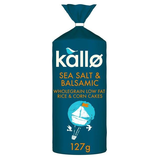 Kallo Salt And Vinegar Rice Cakes