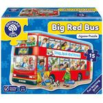 Orchard Toys Big Bus Floor Puzzle, 2yrs+