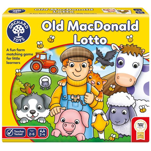 Orchard Toys Old Macdonald Lotto 2+