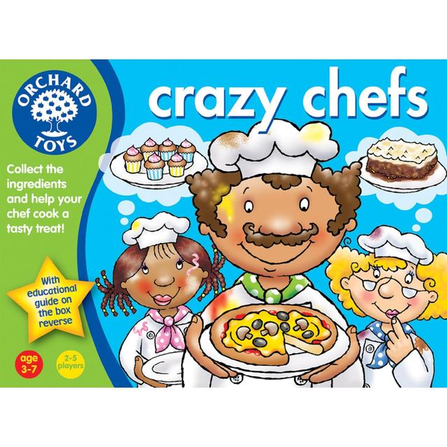 Orchard Toys Crazy Chefs Game 3+