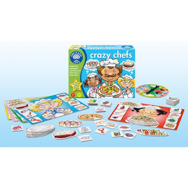 Orchard Toys Crazy Chefs Game, 3yrs+ From Ocado