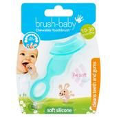 Brush-Baby Teether Brush 10 months - 3 Years