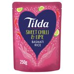 Tilda Steamed Basmati Sweet Chilli & Lime