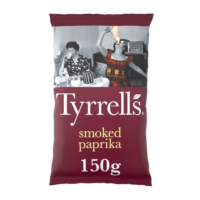 Ocado: Tyrrell's Smoked Paprika Potato Chips 150g(Product Information)