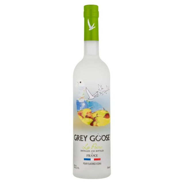 grey goose la poire vodka 70cl from ocado
