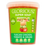 Glorious! Tuscan Chicken, Tomato & Grains Soup