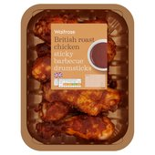 Sticky BBQ Roast Chicken Drumsticks Waitrose