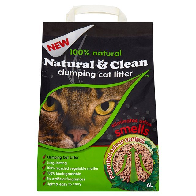 Natural & Clean Clumping Cat Litter